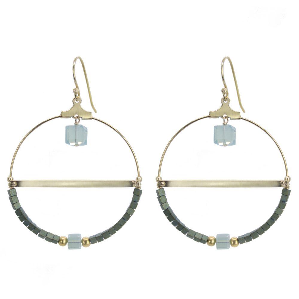 boucles d'oreille, bijoux fantaisie, bijoux swarovski, créoles, bijoux de créateur