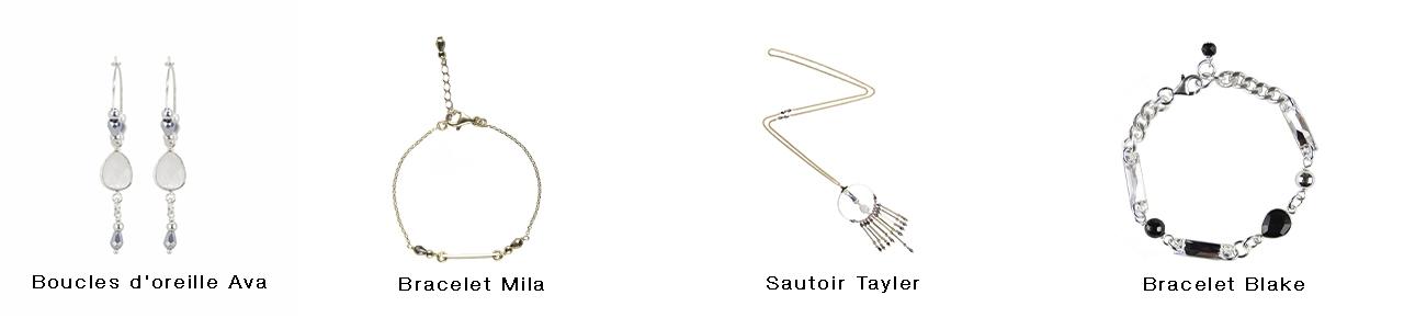 Bijoux fantaisie, collection Manhattan, bijoux de créateur, créateur de bijoux, bijoux artisanaux français