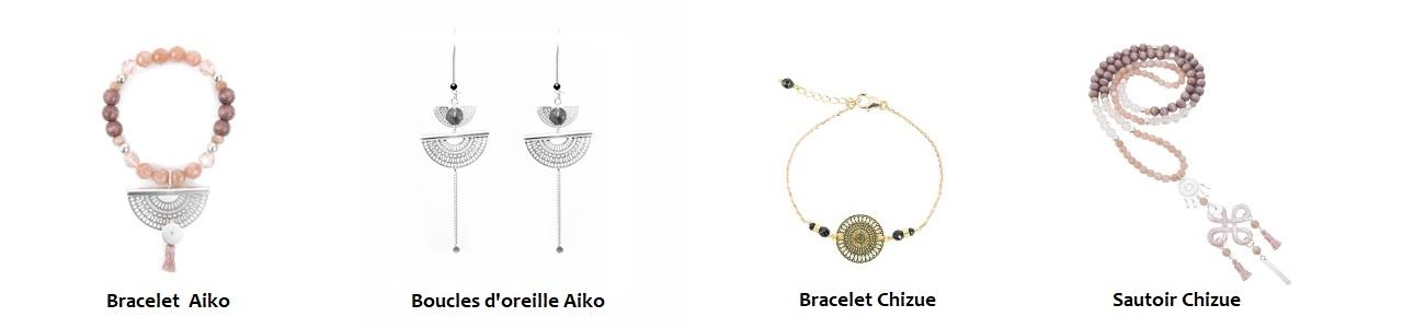 Collection SATOE, bijoux fantaisie, bijoux créateur, bijoux haute fantaisie, made in France, Antibes, Juan les pins