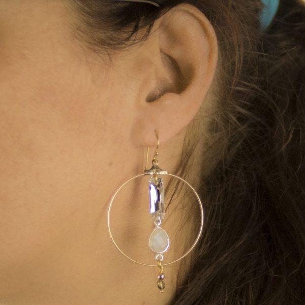 boucles d'oreille, bijoux fantaisie, bijou de créateur