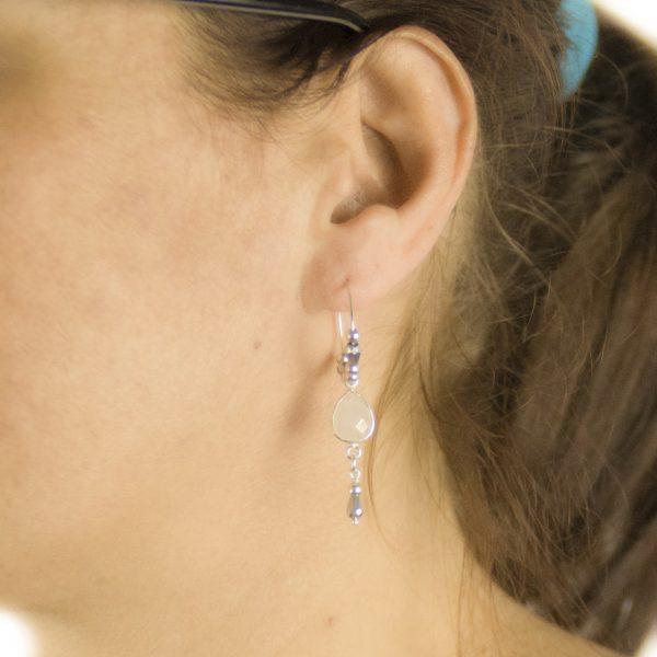 boucles d'oreille, bijoux fantaisie, bijoux argent, bracelet argent