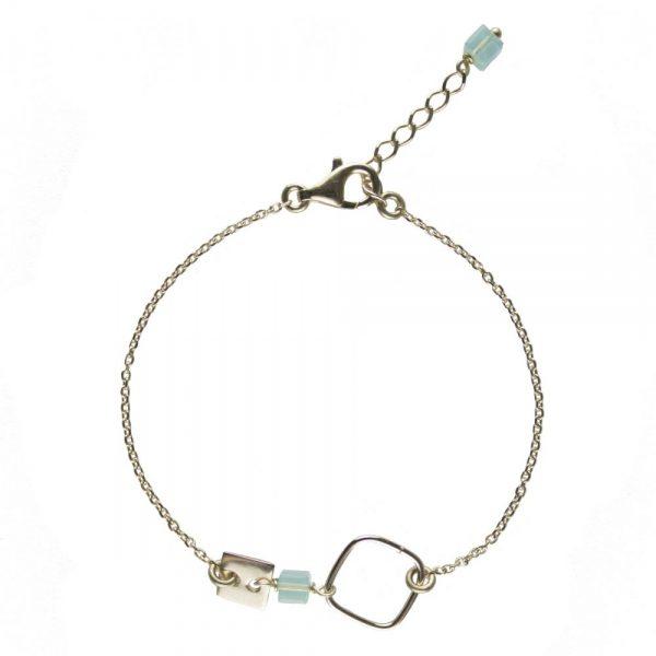 bracelet plaqué or, bijoux or, bijoux de créateur, bracelet, bijoux fantaisie