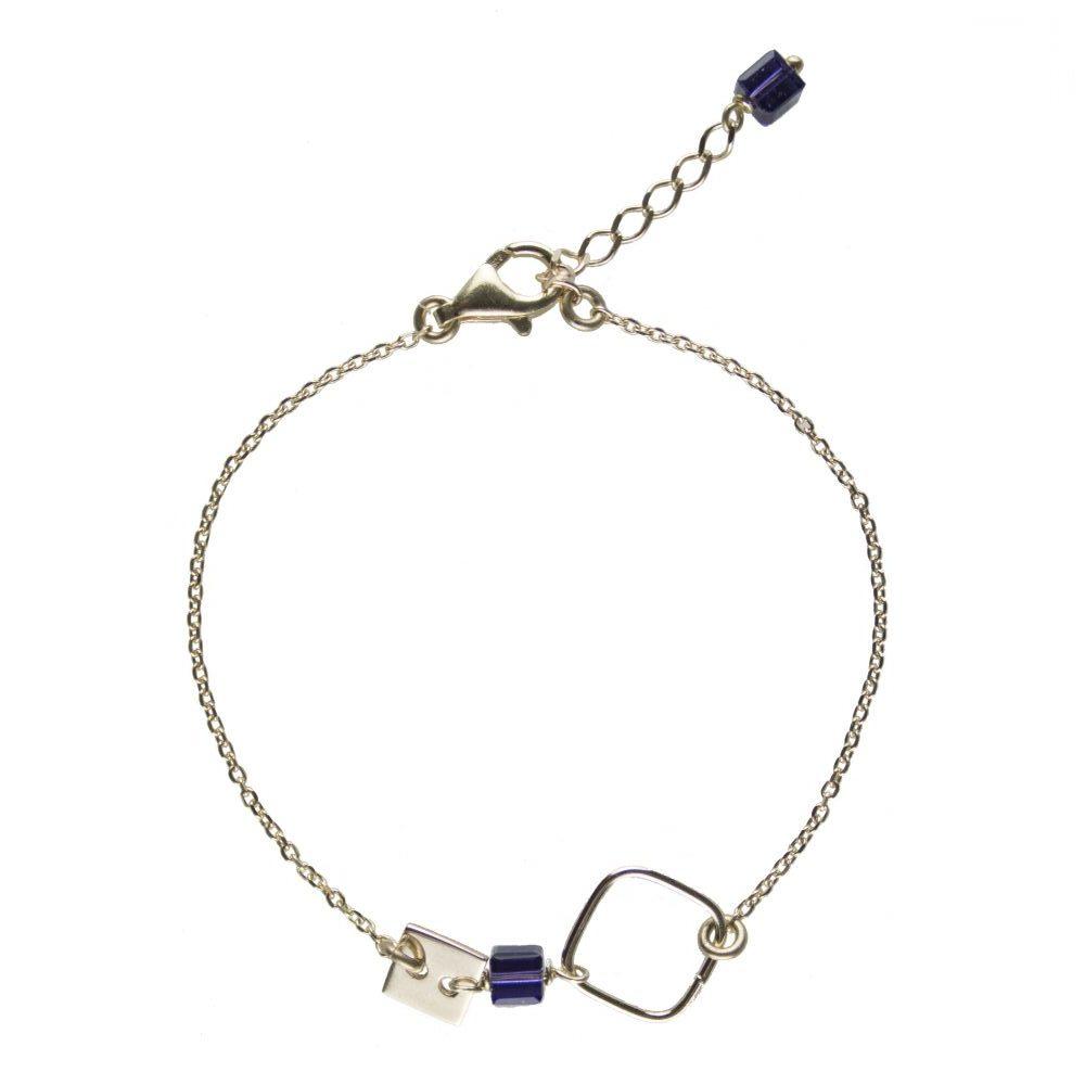 bracelet plaqué or, bijoux or, bijoux de créateur, bijoux fantaisie, bracelet fin