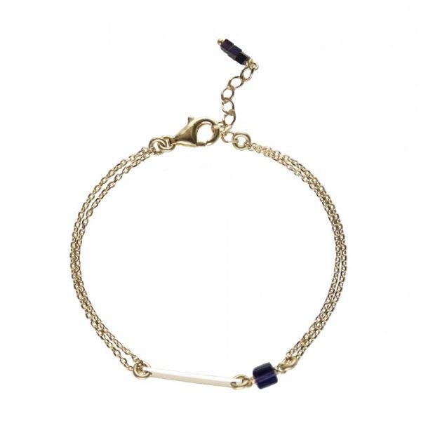 bracelet plaqué or, bijoux or, bijoux fantaisie, bijoux de créateur, bracelet fin, bijoux haute fantaisie