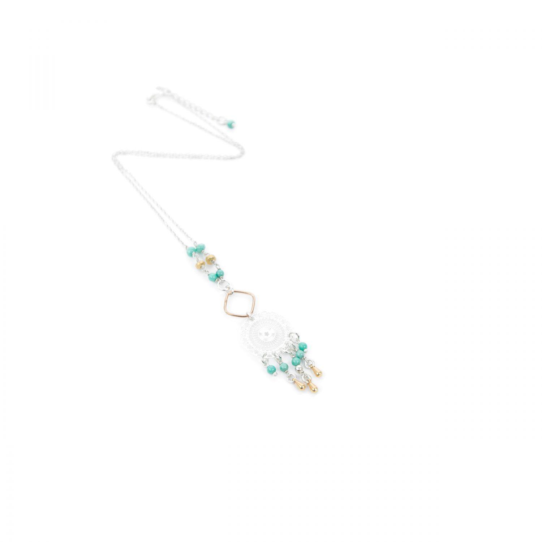 Bijoux fantaisie, collier, collection printemps été 2018, fait main, bijoux de créateur,