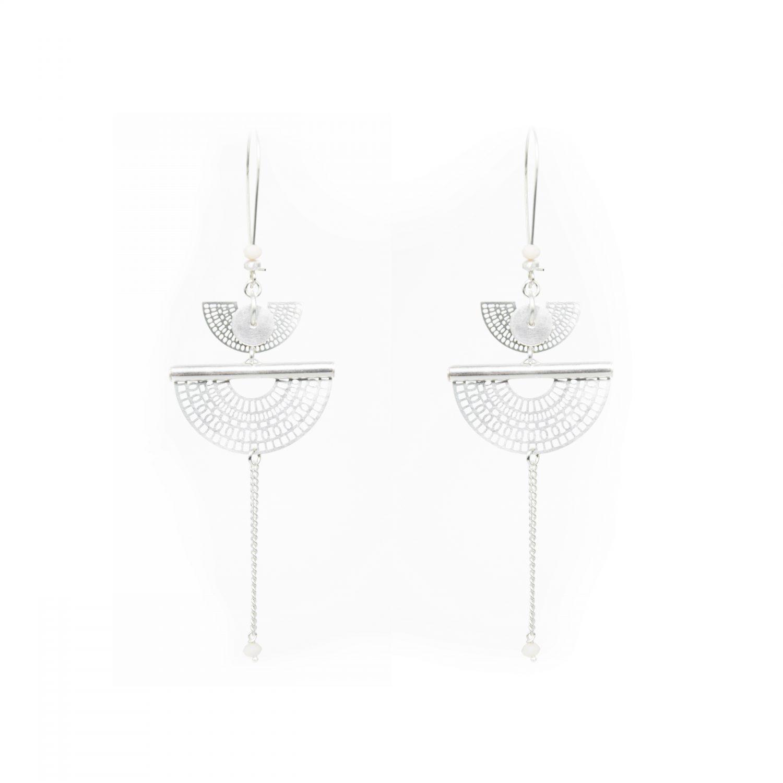 Boucles d'oreille, Aiko, nouvelle collection, printemps été 2018, bijoux fantaisie, bijoux créateur, créations artisanales francaises, juan les pins