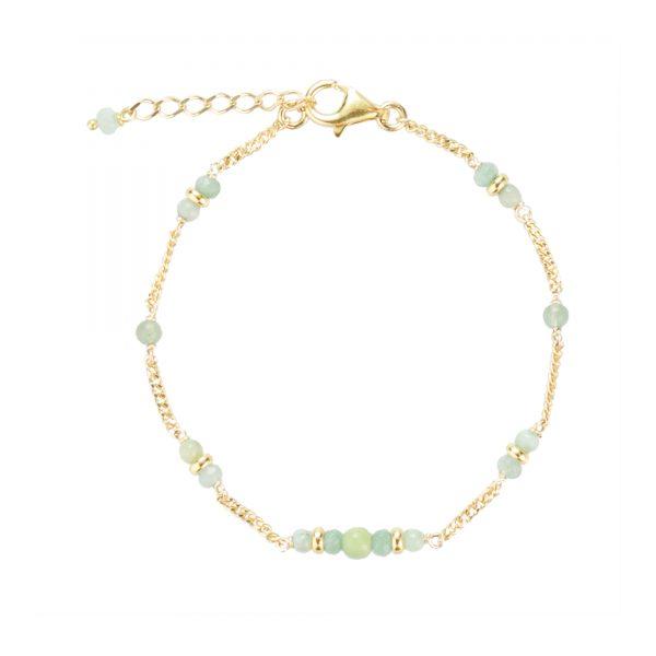 Bracelet Shiva plaqué or bleu, bijoux fantaisie, bijoux de créateur, made in France, bracelet, cote d'azur