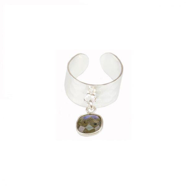 Bague Fragment La petite fabric de bijoux Labradorite et argent 925 bijoux fantaisie