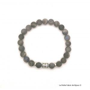 Bracelet Mavrick Labradorite argent 925