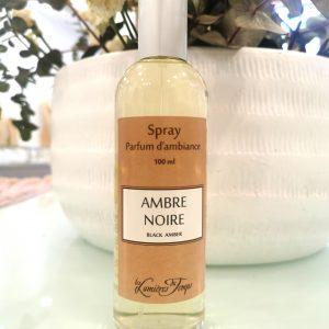 Spray d'ambiance Ambre noire 100 ml